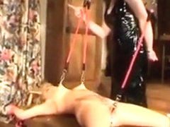 Massiv Pussy Torture With Anal Plug