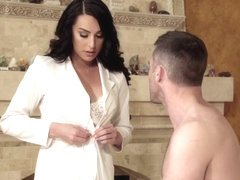 Gabriel D'Alessandro & Domino Presley in Stepsister's BIG Secret - TransAngels