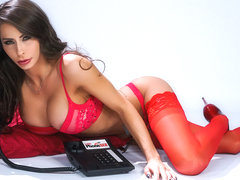 Madison Ivy & Jean Val Jean in 1 800 Phone Sex: Line 6 - BrazzersNetwork