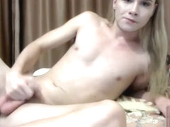 wild blonde large pecker sheboy