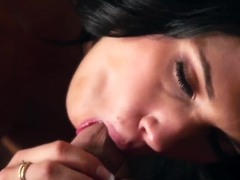 Gorgeous tattooed brunette Callie Cyprus gets rammed