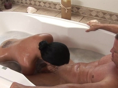 Hottest pornstars Eric Masterson, Angelina Stoli in Exotic Massage, Latina adult clip