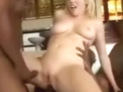 Adrianna Nicole Gets DP'd By Two Throbbing Black Meat Rods