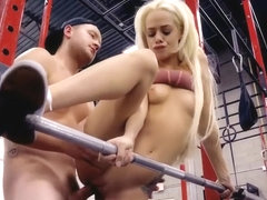Hot Elsa Jean fucks at the gym - Watch Part2 on www.uniteporn.com