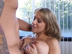 Best pornstars Alyssa Lynn, Derrick Pierce in Exotic Facial, Swallow porn movie