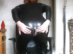 Crazy homemade shemale clip with Webcam, Solo scenes