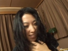 Chris Ozawa Asian doll gets a rear fucking