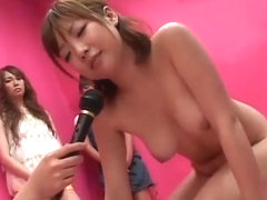 japanese women play game and loser get punishment-2