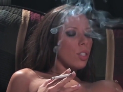 Rachel Starr - Smoking Sucking Fucking 720p HD