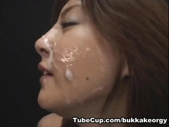 JapaneseBukkakeOrgy: Drink the Semen