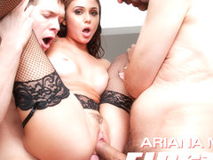 Ariana Marie in Ariana Marie: First DP Makes Her Gape - EvilAngel