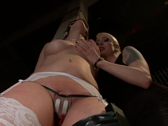 Best blonde, fetish porn video with horny pornstars Lorelei Lee and Charlotte Vale from Wiredpussy