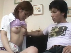 Crazy Japanese model Azusa Itagaki in Best Blowjob/Fera JAV video