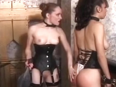 Hottie In Excellent Bdsm Scenes With Ropes And Clothespins