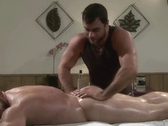 massage fuck and hot cum gay party