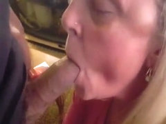 A slut is never too old to suck some dick