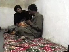 Pakistani Pair having sex in their village