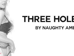 THREE HOLE GIRL featuring Kayla Kayden - NaughtyAmericaVR