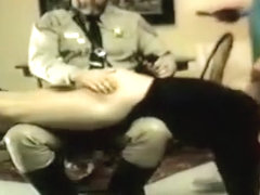 COP SPANK - Police Officers Gay Spanking