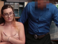 Teen Shoplifter Kate Monroe Pounded By Store Security