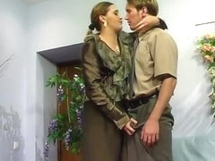 Russian boss seduce junior boy - Helena