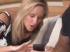 Horny Milf .Stepmom and Stepson share a bed and a big taboo
