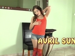 Avril sun has ### soaked socks