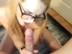 Candee Lace - Hot POV blowjob