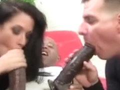 Domina Swapping Black Cock Cum