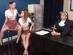 Lesbian nun sex