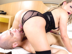 Tony Lee in Lusty T-Girl Plows Muscle Stud - ShemaleIdol