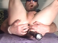 watch solo assthumpn fuck his horny ass and cumn4u cock