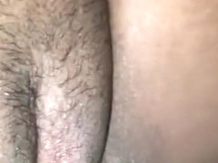 Wife wants cum in her tight wet pussy