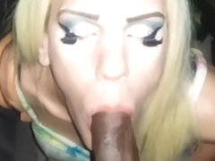 White Shemales get Fucked Raw and Swallow Cum