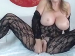 Mommy Bentley With Big Tits And Sexy Lingerie