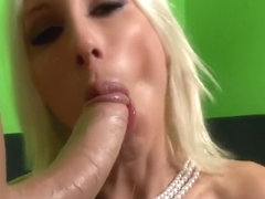 Lipstick Blow Job - Puma Swede Best Cock Sucking Deep throat Cum Facial!
