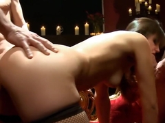 Bobbi Starr gangbanged by demons