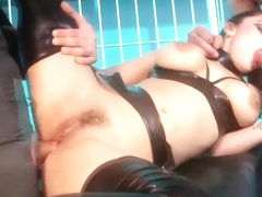 Raunchy Liza Gets Both Her Holes Drilled