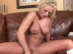 Blondie Brooke Belle Pleasures Herself With Toys