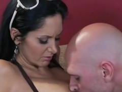 Spicy breasty wife Ava Addams perfroming in amazing sex action ending with a huge cumshot