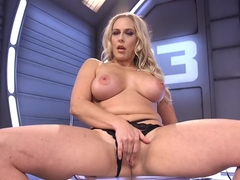 Crazy anal, milf adult clip with fabulous pornstar Angel Allwood from Fuckingmachines