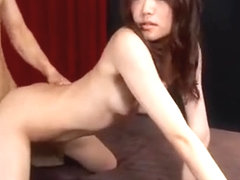 Two Stud And One Asian Wench Suck Scene, Deepthroat Act