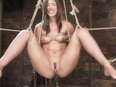 Rilynn Rae in All Natural Beauty In Pile Driver Orgasm Overload - HogTied