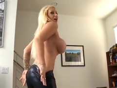 Blonde sex video featuring Karma Rosenberg and Candy Manson