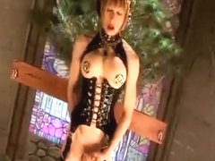 Fabulous homemade shemale scene with Solo, Latex scenes