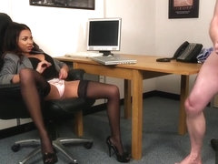 Ruby Summers - Lady Voyuers - Secretary Payback