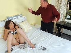 Haley Banks in Innocent Babysitters First Time