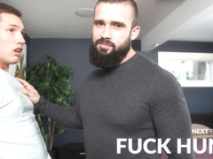 Mathias & Hunter Smith in Fuck Hunter - NextdoorWorld