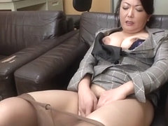 Incredible Japanese slut in Best Mature, Solo Female JAV scene