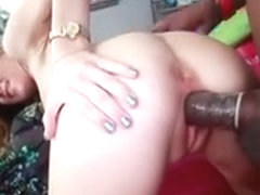 Huge Jock For Small Mouth Of Lovely Teen Alison Faye
